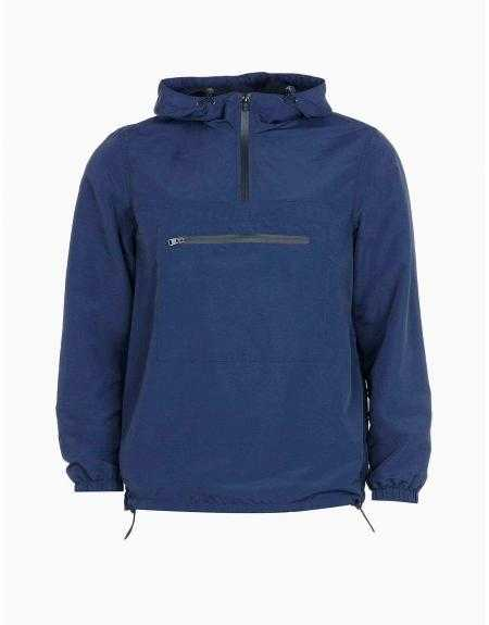 Impermeable Tiffosi Wind azul capucha - Imagen 4