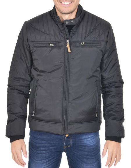 Chaqueta privata casual wear negro - Imagen 1