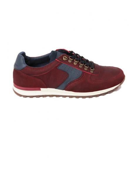 Zapato deportivo casual route piel - Imagen 1