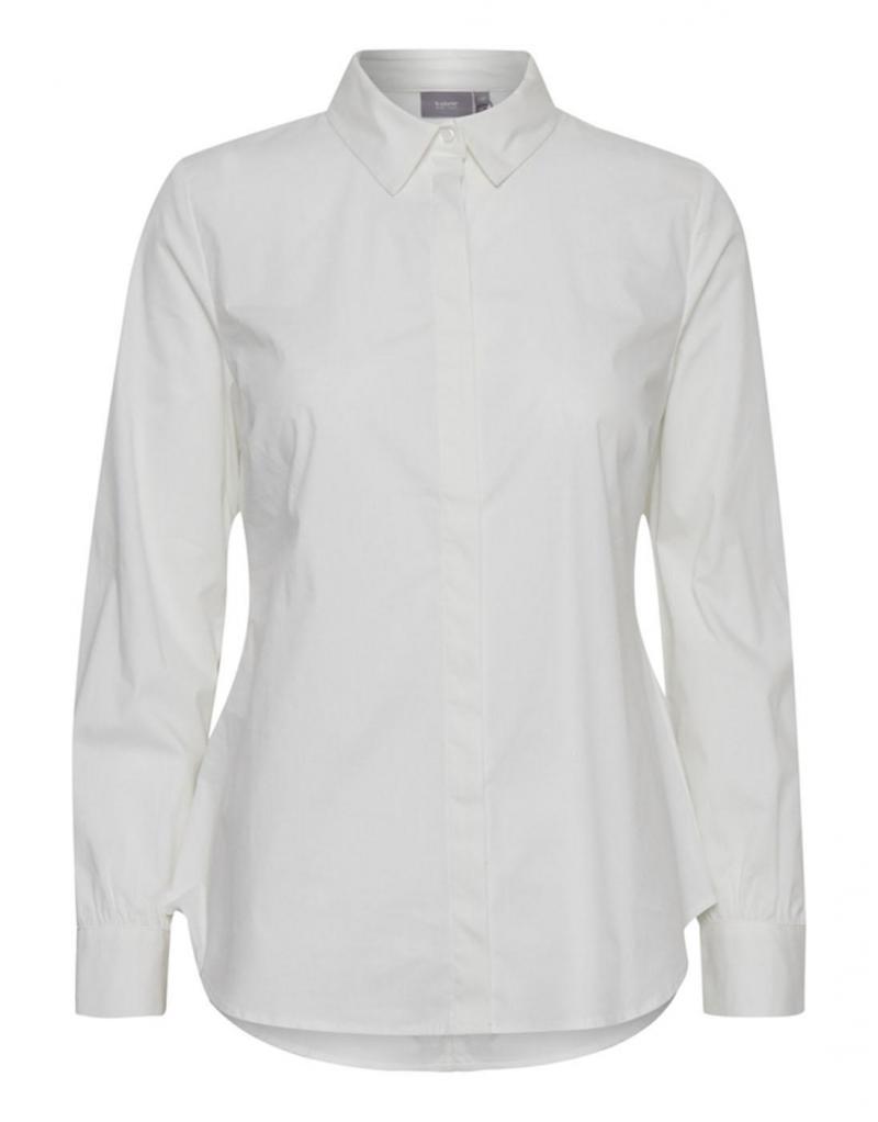 Camisa BYGaline blanca básica - Imagen 1