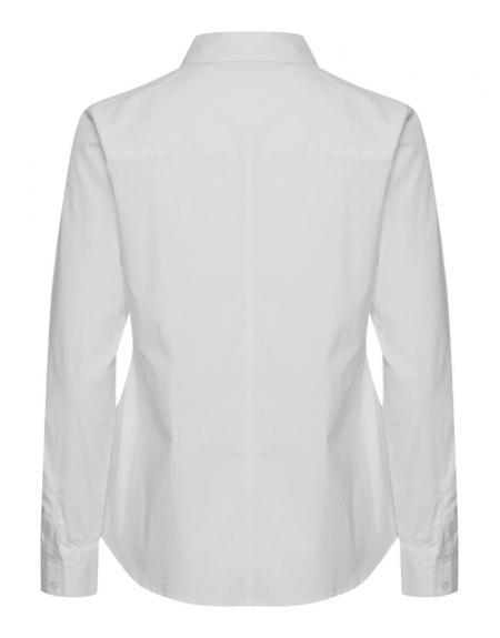 Camisa BYGaline blanca básica - Imagen 2