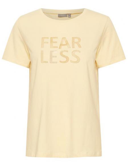 Camiseta manga corta amarillo Byoung Bypandina flock para mujer - Imagen 5