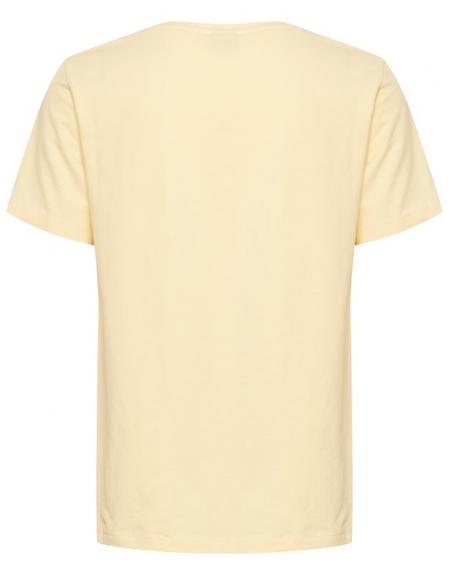 Camiseta manga corta amarillo Byoung Bypandina flock para mujer - Imagen 6
