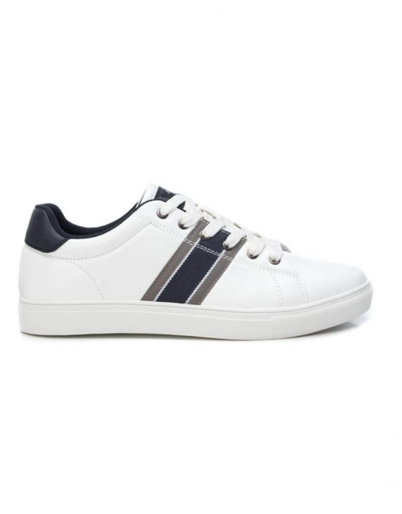Deportivo casual blanco XTI para hombre Deportivas Calzado HOMBRE Pillados Moda: tu tienda online de moda en Noia