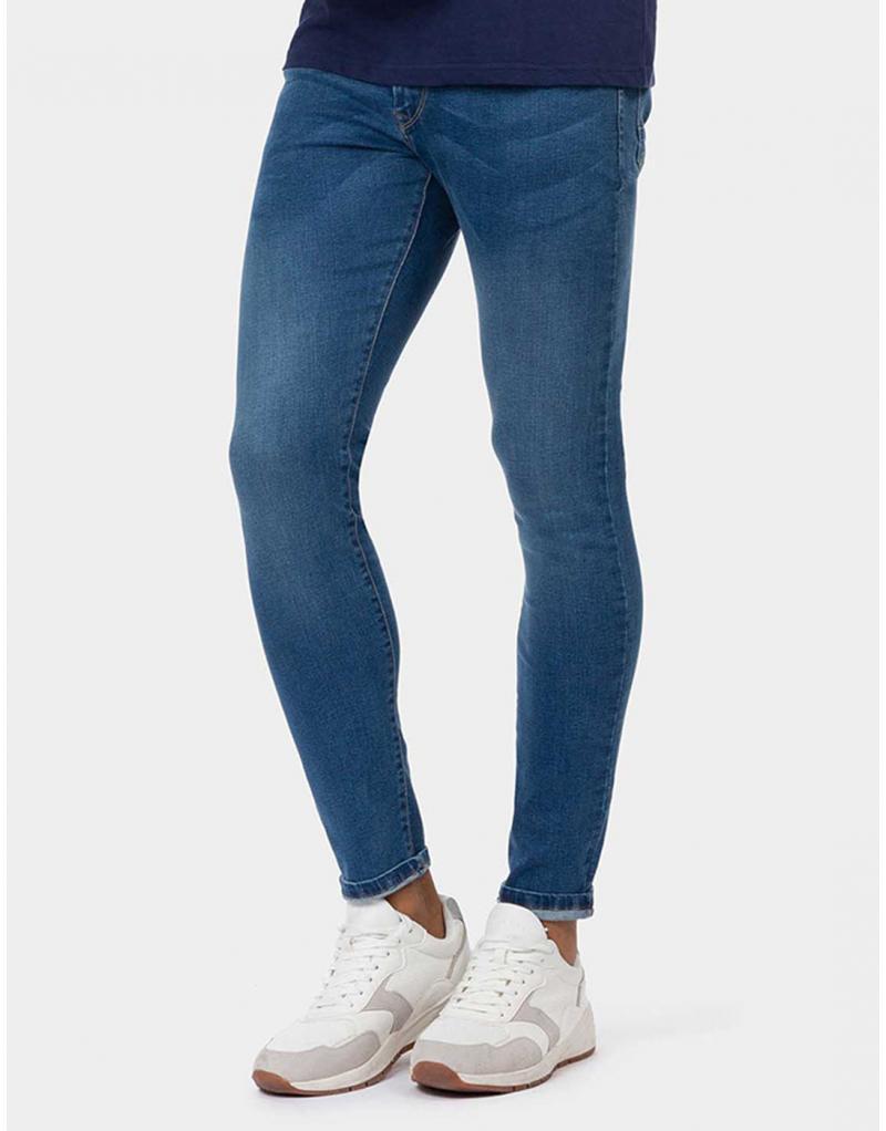 Vaquero azul Harry H149 skinny fit Tiffosi para hombre - Imagen 1