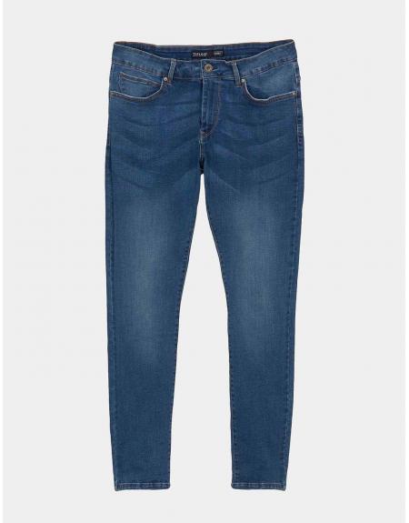Vaquero azul Harry H149 skinny fit Tiffosi para hombre - Imagen 5