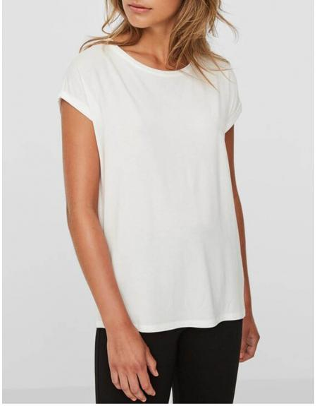 Camiseta manga corta Vero Moda VMAva plain ss top para mujer - Imagen 1