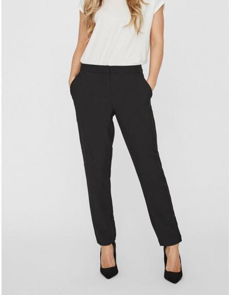 Pantalón chino negro Vero Moda VMTia maya para mujer - Imagen 1
