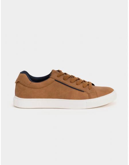 Zapatilla deportiva marrón Perry Tiffosi para hombre - Imagen 1