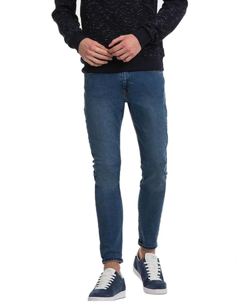 Vaquero Tiffosi Harry H95 skinny azul medio - Imagen 1