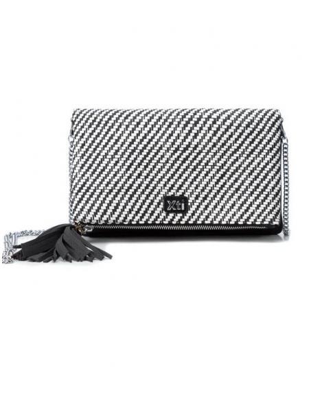 Bolso combinado blanco y negro XTI para mujer - Imagen 1