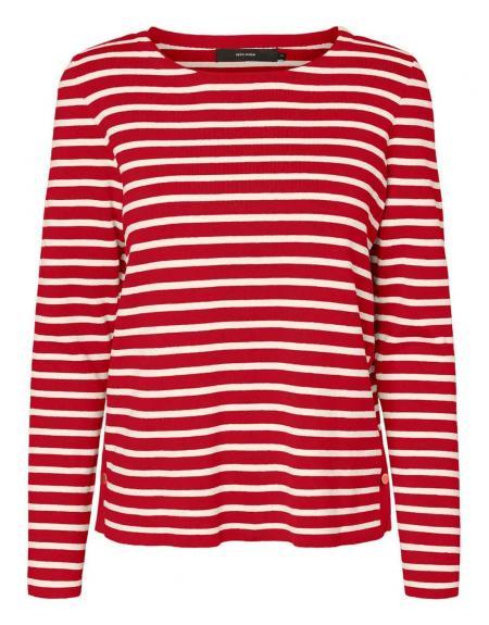 Jersey listas Vero Moda VMSailor para mujer - Imagen 1
