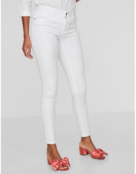 Pantalón Vero Moda Seven white shape up jeans - Imagen 8