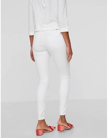 Pantalón Vero Moda Seven white shape up jeans - Imagen 9