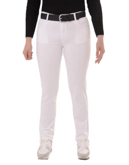 Pantalón loneta daniel casu prepi pitillo para mujer - Imagen 1