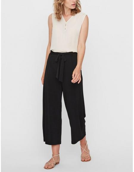 Pantalón ancho negro Vero Moda VMMila para mujer - Imagen 1