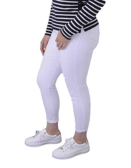 Comprar Pantalon Crz Bucanero Elastico Pitillo Para Mujer Online