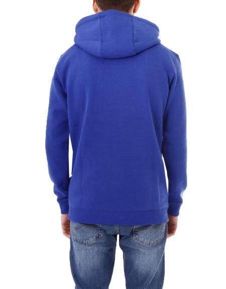 Sudadera Losan azulon letras con capucha para hombre - Imagen 7