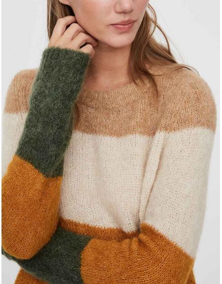 Jersey multicolor Vero Moda Isabella para mujer - Imagen 2