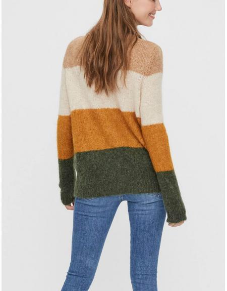 Jersey multicolor Vero Moda Isabella para mujer - Imagen 4