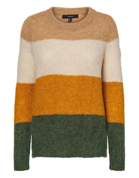 Jersey multicolor Vero Moda Isabella para mujer - Imagen 5