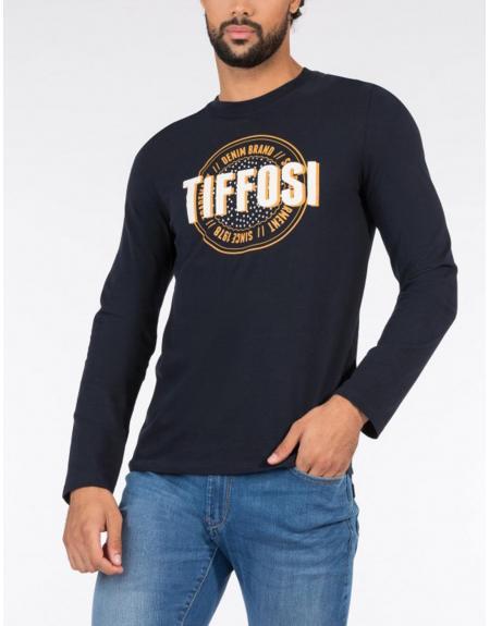 Camiseta print frontal manga larga Tiffosi Dollar para hombre - Imagen 1