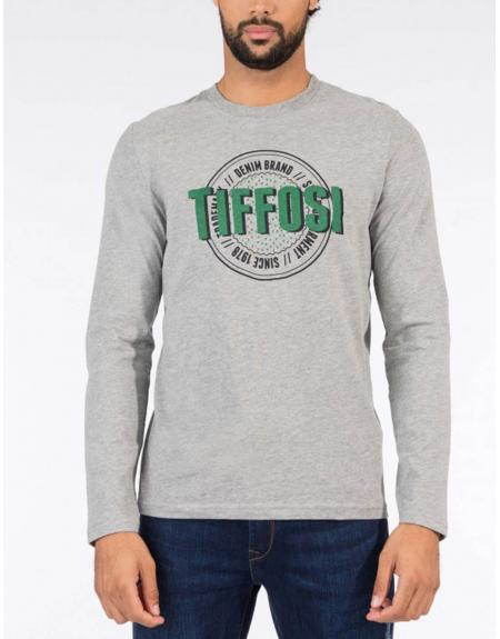 Camiseta print frontal manga larga Tiffosi Dollar para hombre - Imagen 5