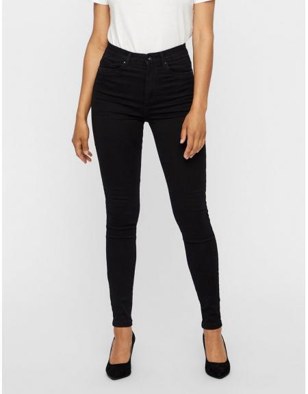 Pantalón Vero Moda Sophia negro  skinny para mujer - Imagen 1
