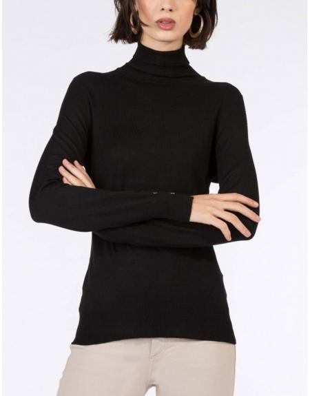 Jersey  cuello cisne botones manga Tiffosi Agate para mujer - Imagen 10