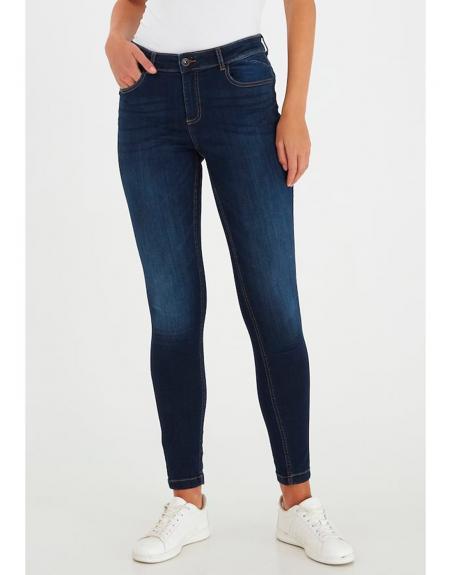Comprar Pantalon Vaquero Azul Oscuro Byoung Lola Luni Para Mujer Online