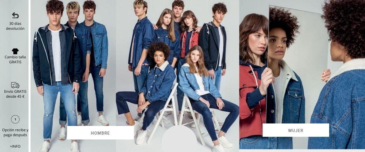 tienda online de ropa de marca Pillados Moda Tiffosi Noia Galicia